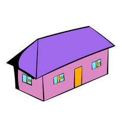 small cottage icon icon cartoon vector image vector image