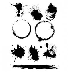 splats vector image vector image