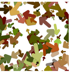 Abstract seamless arrow background pattern - from vector