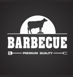 bbq barbecue premium quality image vector image