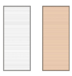 Beach mat vector