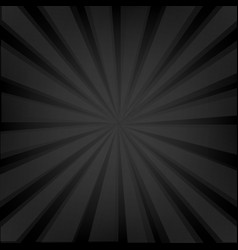 Black background texture with sunburst vector