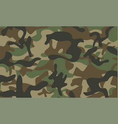 Camouflage pattern background vector