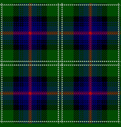 Clan sutherland scottish tartan plaid seamless pat vector