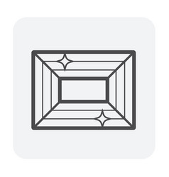 Duct clean icon vector