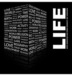LIFE vector image
