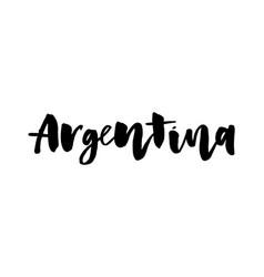 slogan hand written calligraphic spanish vector image