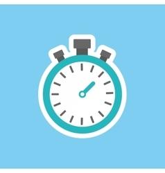 sport timer clock vector image