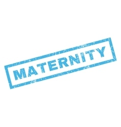 Maternity rubber stamp vector