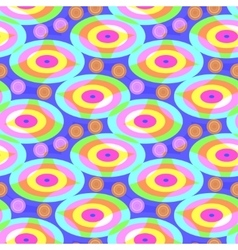 Bright pattern of ovals vector image