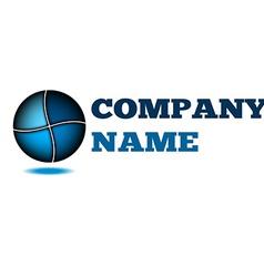 Idea design logo company Technology business vector image vector image