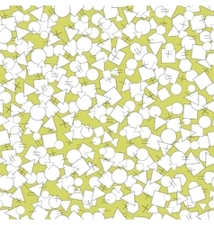 seamless pattern geometric forms vector image