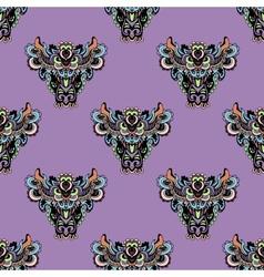 Unusual Seamless pattern vector image