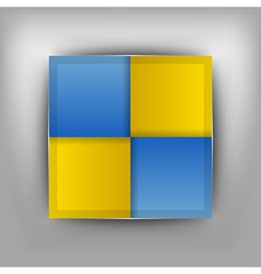Business four squares II vector