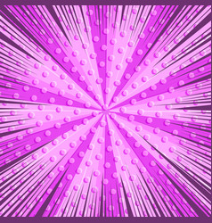 Comic page pink light background vector