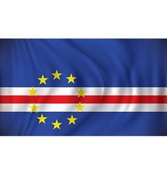 Flag of Cape Verde vector