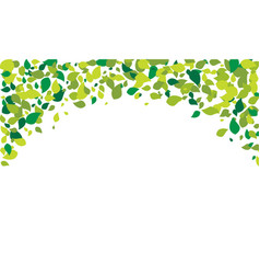 leaf background design vector image
