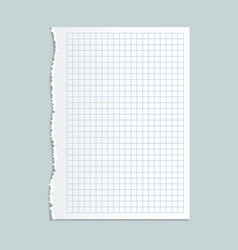 notebook paper concept background realistic style vector image