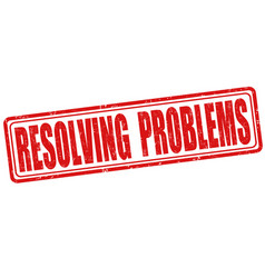 Resolving problems stamp vector