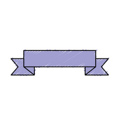 Ribbon of frame icon vector