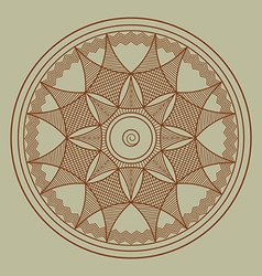 Byzantine rosette vector image