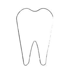 Dental care symbol vector