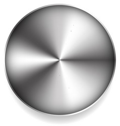 abstract metallic circle vector image