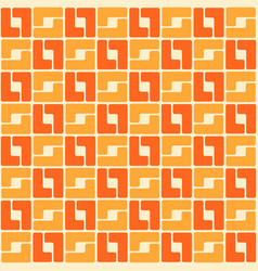 abstract trendy seamless pattern of geometric vector image