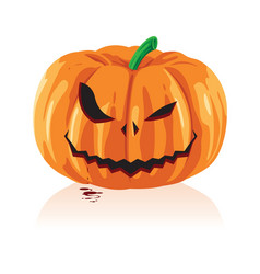 jack o lanterns and halloween vector image
