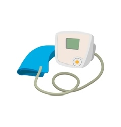 Medical tonometer cartoon icon vector image