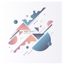 Modern background with abstract elements vector