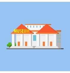 Public City Museum vector image