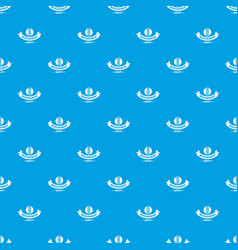 thermometer pattern seamless blue vector image
