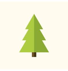 Christmas tree sign vector