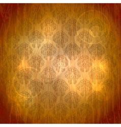 Vintage Filigree Wallpaper vector image vector image