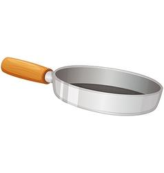 A frying pan vector