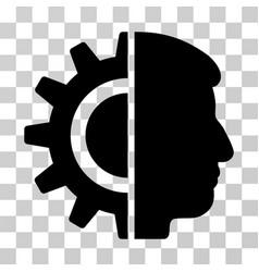 Android robotics icon vector