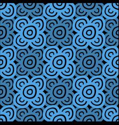 background - dark blue and black vector image
