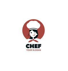 Chef woman design vector