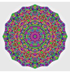 Colorful Circle Kaleidoscope Backdrop vector