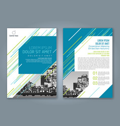 Cover annual report 932 vector