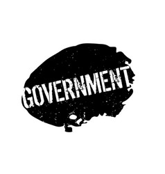 Government rubber stamp vector