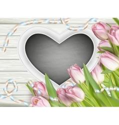 Heart shaped frame EPS 10 vector