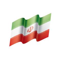 Iran flag vector