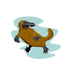 Platypus Front View vector