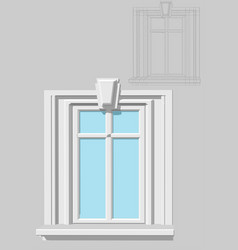 Rectangular window vector