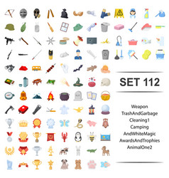 weapons animal magic vector image
