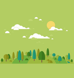 forest8 vector image vector image