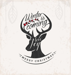 Christmas Greeting Card Design Element vector