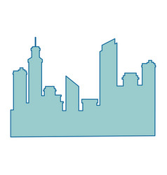City background symbol vector